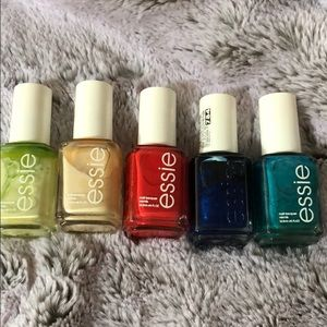 5 pieces Essie nail bundles